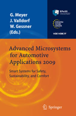 Meyer, Gereon - Advanced Microsystems for Automotive Applications 2009, e-kirja