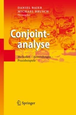 Baier, Daniel - Conjointanalyse, ebook