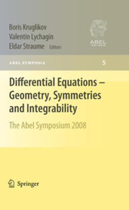 Kruglikov, Boris - Differential Equations - Geometry, Symmetries and Integrability, ebook