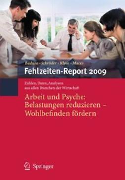 Badura, Bernhard - Fehlzeiten-Report 2009, ebook