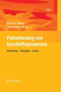 Möhrle, Martin G. - Patentierung von Geschäftsprozessen, ebook