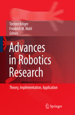 Kröger, Torsten - Advances in Robotics Research, ebook