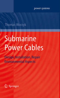 Worzyk, Thomas - Submarine Power Cables, ebook