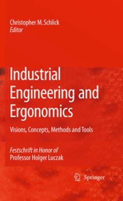 Schlick, Christopher M. - Industrial Engineering and Ergonomics, e-kirja