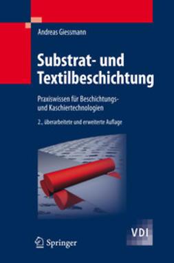 Giessmann, Andreas - Substrat- und Textilbeschichtung, ebook