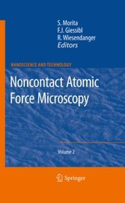 Morita, Seizo - Noncontact Atomic Force Microscopy, e-bok