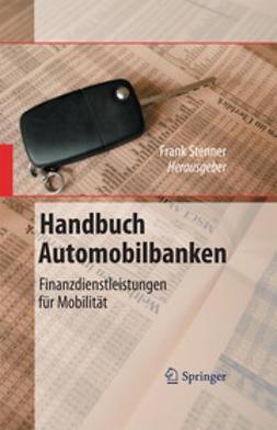 Stenner, Frank - Handbuch Automobilbanken, e-bok