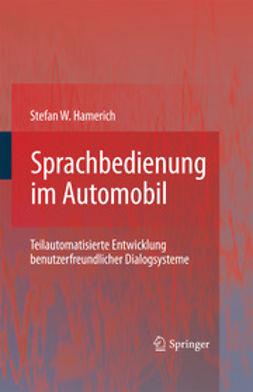 Hamerich, Stefan W. - Sprachbedienung im Automobil, ebook