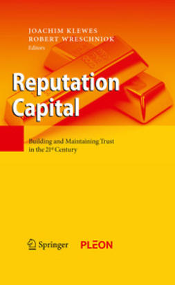 Klewes, Joachim - Reputation Capital, ebook