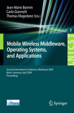 Bonnin, Jean-Marie - MobileWireless Middleware, Operating Systems, and Applications, e-kirja