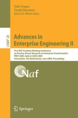 Dietz, Jan L. G. - Advances in Enterprise Engineering II, e-bok