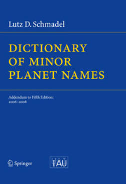 Schmadel, Lutz - Dictionary of Minor Planet Names, ebook