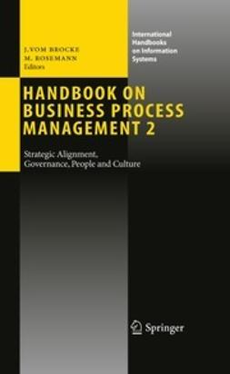 Brocke, Jan - Handbook on Business Process Management 2, ebook