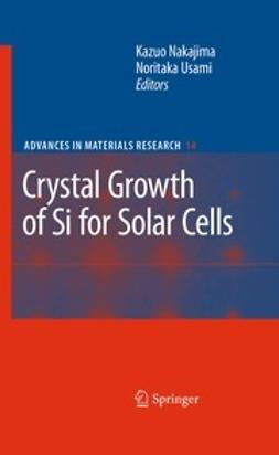 Nakajima, Kazuo - Crystal Growth of Si for Solar Cells, ebook