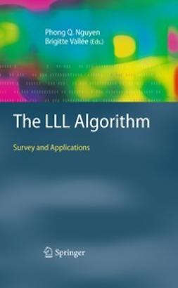 Nguyen, Phong Q. - The LLL Algorithm, e-bok