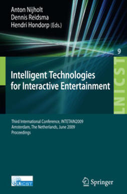 Hondorp, Hendri - Intelligent Technologies for Interactive Entertainment, ebook