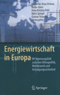 Dratwa, Friederike Anna - Energiewirtschaft in Europa, ebook