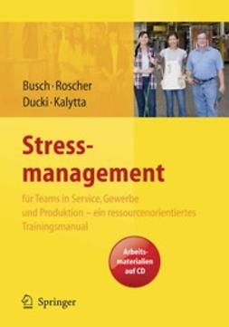 Busch, Christine - Stressmanagement, ebook
