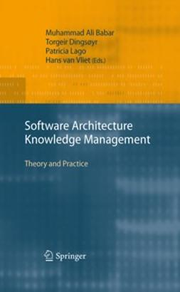 Babar, Muhammad  Ali - Software Architecture Knowledge Management, ebook