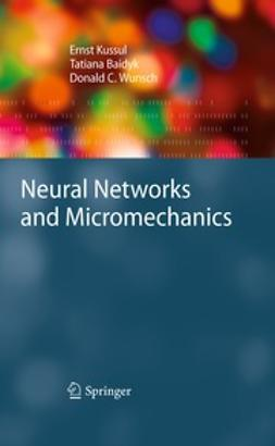Kussul, Ernst - Neural Networks and Micromechanics, e-kirja