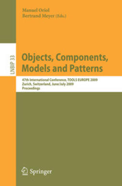 Oriol, Manuel - Objects, Components, Models and Patterns, ebook