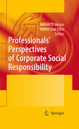 Idowu, Samuel O. - Professionals´ Perspectives of Corporate Social Responsibility, ebook