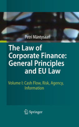 Mäntysaari, Petri - The Law of Corporate Finance: General Principles and EU Law, e-kirja