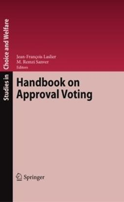 Laslier, Jean-François - Handbook on Approval Voting, ebook