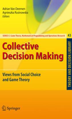 Deemen, Adrian Van - Collective Decision Making, ebook