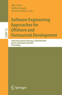 Gotel, Olly - Software Engineering Approaches for Offshore and Outsourced Development, ebook