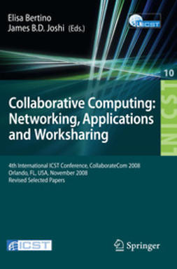 Bertino, Elisa - Collaborative Computing: Networking, Applications and Worksharing, ebook