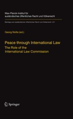 Nolte, Georg - Peace through International Law, ebook