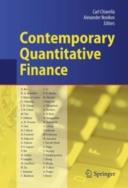 Chiarella, Carl - Contemporary Quantitative Finance, ebook