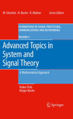 Pohl, Volker - Advanced Topics in System and Signal Theory, e-kirja