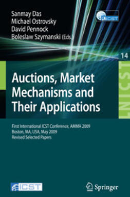 Das, Sanmay - Auctions, Market Mechanisms and Their Applications, ebook