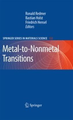 Redmer, Ronald - Metal-to-Nonmetal Transitions, ebook