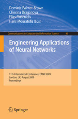 Draganova, Chrisina - Engineering Applications of Neural Networks, e-kirja