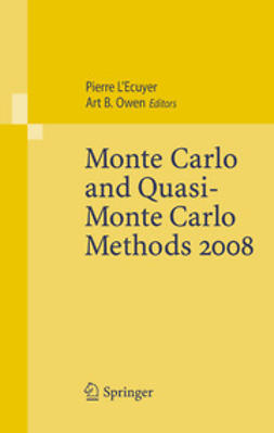 Ecuyer, Pierre L' - Monte Carlo and Quasi-Monte Carlo Methods 2008, ebook