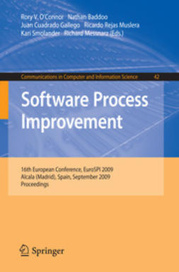 O'Connor, Rory V. - Software Process Improvement, ebook