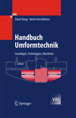 Doege, Eckart - Handbuch Umformtechnik, ebook
