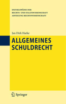 Harke, Jan Dirk - Allgemeines Schuldrecht, ebook