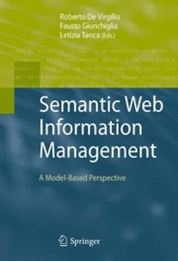 Virgilio, Roberto de - Semantic Web Information Management, ebook