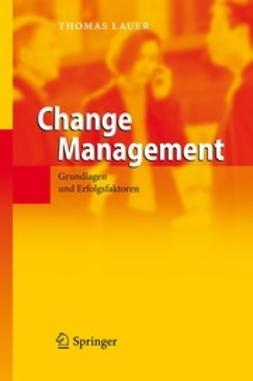 Lauer, Thomas - Change Management, e-kirja