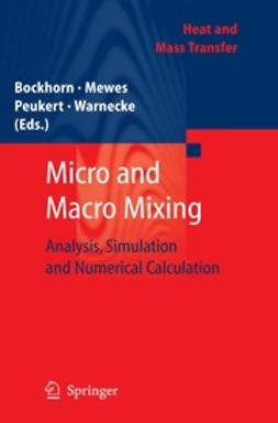 Bockhorn, Henning - Micro and Macro Mixing, ebook