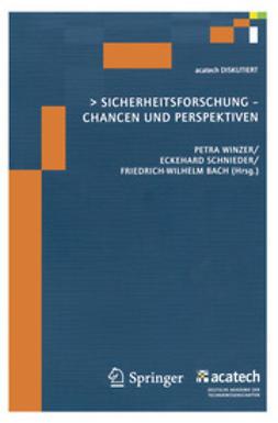 Winzer, Petra - Sicherheitsforschung-Chancen und Perspektiven, ebook