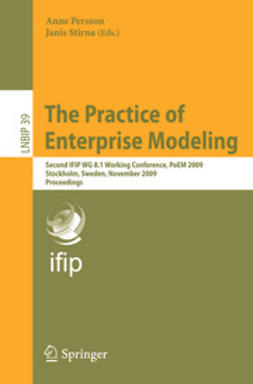 Persson, Anne - The Practice of Enterprise Modeling, e-bok