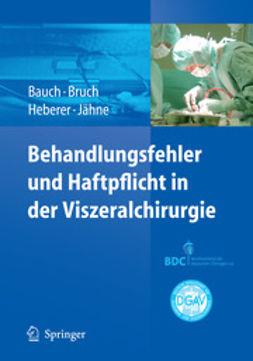 Bauch, J. - Behandlungsfehler und Haftpflicht in der Viszeralchirurgie, ebook