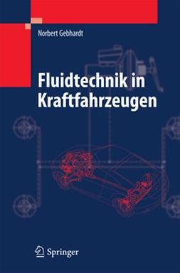 Gebhardt, Norbert - Fluidtechnik in Kraftfahrzeugen, ebook