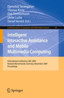 Kirste, Thomas - Intelligent Interactive Assistance and Mobile Multimedia Computing, ebook
