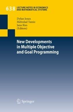 Jones, Dylan - New Developments in Multiple Objective and Goal Programming, ebook